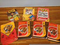Hull City Programmes 1982-1988