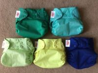 Bumgenius complete nappy set - prewashed but not used