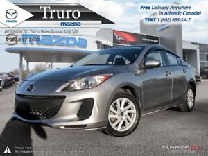 2013 Mazda Mazda3 $46/WK TX IN! LOW KM'S! ONE OWNER! AUTOMATIC!