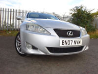 07 LEXUS IS 220 DIESEL 2.2 SE,MOT SEPT 018,2 OWNERS FROM NEW,2 KEYS,PART HISTORY,STUNNING EXAMPLE