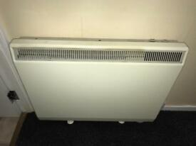 2 x Dimplex XL N Electric Storage Heaters Radiators 31 & 40 inch wide. 28 inches tall