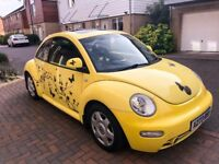 2.0l VW Volkswagen Beetle Yellow Automatic named Daffi