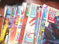 200Ad - 2000 AD – Judge Dredd – Comics – Bundle 825 to 850 (approx.)