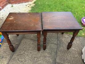 old side tables - ideal for project