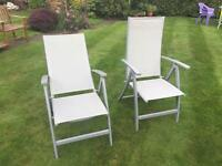 Garden Chairs x 4 - FOR COLLECTION