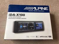 Alpine iDA-X100 Car iPod/iPhone stereo single din