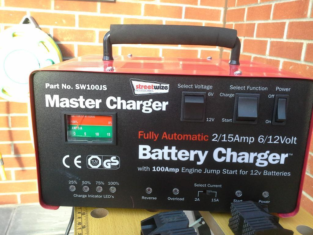master battery charger