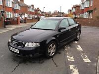 02 AUDI A4 1.9 TDI 10 MONTHS MOT MAY PX OR SWAP