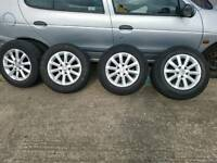 "For sale vw golf mk5 16"" alloy wheels"