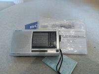 Sony Portable Radio with full instructions