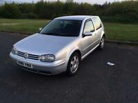 2001 Volkswagen golf gt tdi pd130 3 door