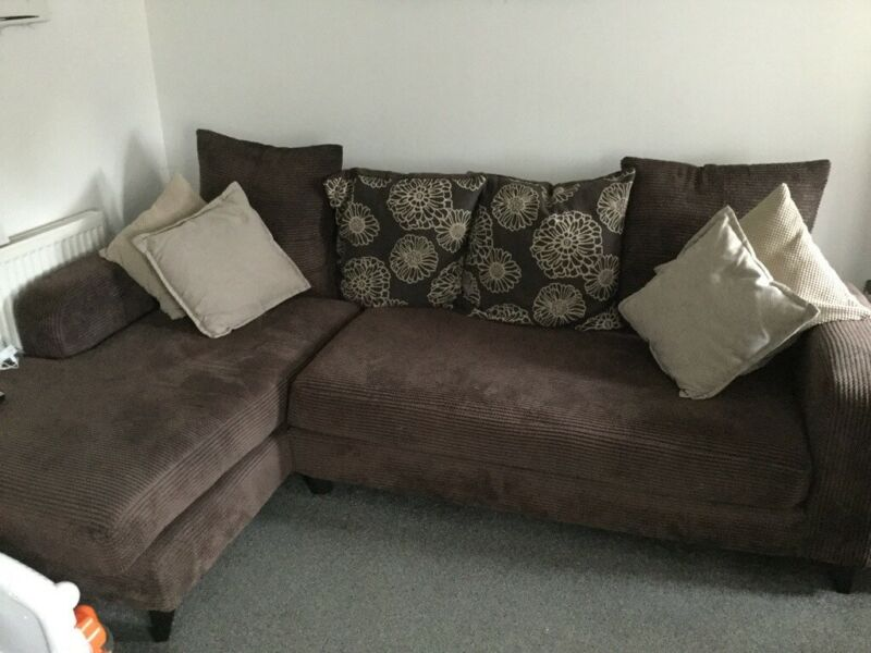 3piece suite large 3 seater chaise .. 2 seater metal action bed settee and a huge snuggle chair , used for sale  Abbeymead, Gloucestershire