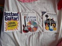Guitar books only £3