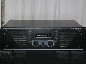Ekho RX1500 power amplifier