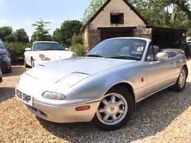 1992 K-reg Mazda MX-5 Low 67,900 miles *Watch YouTube videos* MOT no advisories Mk1 MX5 Manual