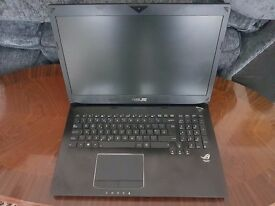 ASUS 17.3 INCH i7 NVIDIA 3GB GTX GRAPHICS GAMING LAPTOP (BOXED)