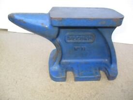 Vintage Mini Record No. 11 Anvil (see Description for sizes) - Good Condition - Buyer To Collect