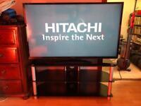 """Hitachi 47"""" HD Smart TV + remote + stand"""