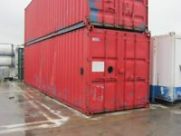 """30ft x 8ft Used Shipping Container's FOR SALE only """"£1495+vat"""" LIGHTS & SOCKETS site portable cabin"""