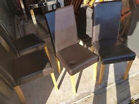 Dining room chair's