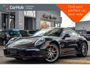 2015 Porsche 911 Carrera 4|Manual|Keyless_Go|Nav|Bluetooth|Sat|S
