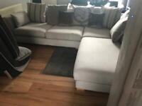 Dfs globe corner group sofa.