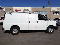 2014 Chevrolet Express ladderrack, shev.fin or lease from4.99%oa
