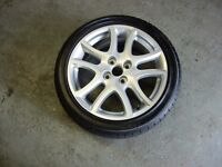 Alloy Wheel & Tyre for Mazda 2, in great condition.