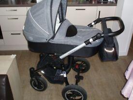 Pram stroller buggy pushchair bacic comfort