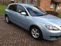 2007 MAZDA 3,5DOORS 1.6 TS PETROL WITH MOT 9MONTHS
