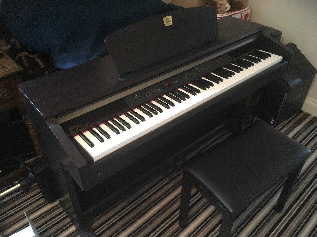 Yamaha Clavinova CLP-120 Digital Piano c/w Stool and Owners Manual -  Immaculate
