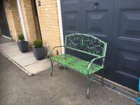Garden Bench - Metal