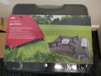 Wilko portable gas stove NEW Sealed