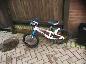 Cube kids bike.