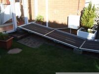 Adjustable wheelchair ramps for sale.