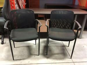 Office Furniture - Office Chair - Guest Chair - Black - Mesh Back