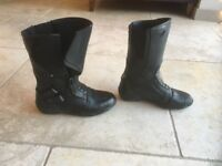 Merlin Motorbike Boots . Size 39 . In excellent condition .Hardly worn. Bought new.