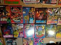 2000AD comics & annuals