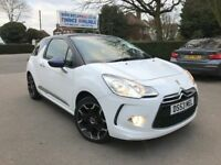 FINANCE £143 PER MONTH, 1 OWNER 2015 CITROEN DS3 1.2 DSTYLE PLUS PURETECH STOP/START, PRIVATE PLATE