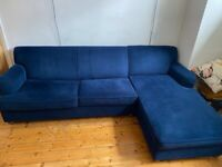 Made com Right facing sofabed £400 / 1 year old