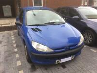 Peugeot 206 1.1LX for sale