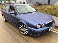 2005 Jaguar X type S D estate 130 Bhp # leather # parking sensors