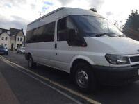 Bargain ford transit mini bus mot 2018 August