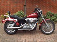 Harley Davidson FXD Super Glide 1999.