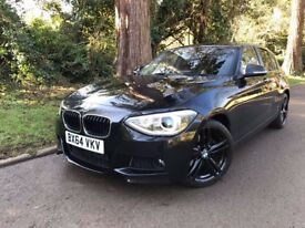 BMW 116 M Sport, Petrol, Auto **OVER £10k EXTRAS** Low mileage FSH LEATHER Touchpad Nav Xenons DVD