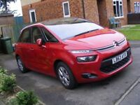 63 REG, 2014 YEAR NEW SHAPE CITROEN C4 PICASSO 1.6 HDI, MANUAL, VTR+, ONLY 34500 MILES, CAT. D FSH