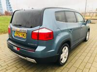 CHEVROLET ORLANDO 2.0 LTZ VCDI 5d 161 BHP VERY VERY WELL PRICED 7 SEATER. (blue) 2014