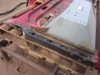 Sand-blasting. Shot-blasting. Chassis. 4 x 4. Land Rover. Toyota. Plant. Building materials.