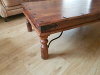 Large Solid Wood Thakat coffee table
