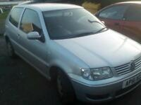 Vw Polo 2001 51reg 1.4 match 3dr